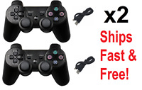 2x PS3 Controller Wireless Bluetooth GamePad For Sony Playstation 3 New Colors