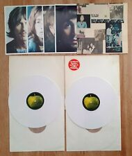 Beatles White Album Milk White Vinyl Germany Inserts  Numbered in Exc./NM