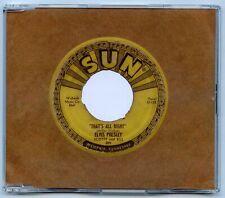 Elvis Presley 1 TRACK PROMO/DEMO CD That's All Right. RARE ITEM