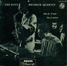 """DAVE BRUBECK QUARTET - Take the """" A """" Train / out of Nowhere 7 """" Single (S9141)"""