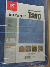 """Weather Resistant  Multi use Tarp 5ft. 6"""" x 7ft. 6"""" INDUSTRIAL GRADE  4 MIL NEW"""