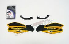 POWER MADD HAND GUARDS HONDA TRX 400EX BLACK YELLOW POWERMADD HANDGUARD ATV HAND