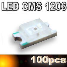 103/100# LED CMS 1206 orange 180mcd- SMD orange -100pcs