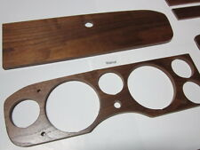FIAT 124 SPIDER DASHBOARD WOOD-INSTRUMENT CLUSTER WOOD-WALNUT-1969 THRU 1978