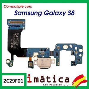 FLEX CONECTOR DE CARGA PARA SAMSUNG GALAXY S8 G950 G950F JACK AUDIO MICRO USB