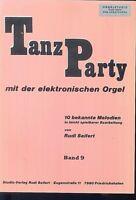""""""" Tanz Party """" mit der elektronischen Orgel Band 9"""