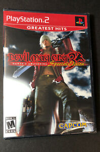Devil May Cry 3 Dante's Awakening [ Special Edition ] (PS2) NEW