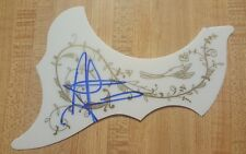 Aaron Lewis Hand Signed Acoustic Guitar Pickguard with Certificate