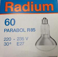 RADIUM parabol Reflector R85 60w E27 parabol 30°bombilla 230v 60 vatios