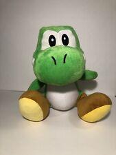 "2008 Hudson Soft - Nintendo Mario Party Game Yoshi Large 12"" Stuffed Plush Toy"