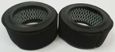 Lot of 2x Ap425 Air compressor intake polyester filter with foam pre-filter