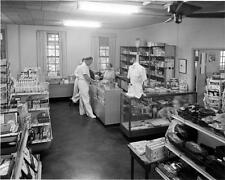 Photo. 1950s. Pensacola, FL. Comic Book Store in Navy Hospital Ships Service