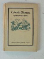 Ludwig Richters Heimat und Volk Büchlein B10387