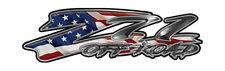 "Chevy Z71 Offroad Truck Decals Silverado American Flag 16"" REFLECTIVE 053"