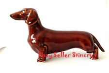 Dachshund red Author's Porcelain realistic figurine NEW release 2020 + Gift box