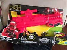 Star Wars Nerf Sith Trooper Blaster -- Lights and Sounds Brand New Kid Toy Gift