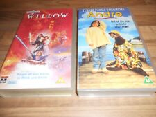 TWO  FILMS ON VHS VIDEOS