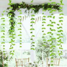 Artificial Plants Long Green Spring Leave Garlands Kit for Rustic Wedding Party