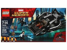 LEGO 76100 Marvel Super Heroes Black Panther Royal Talon Fighter Attack 358pcs