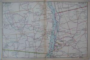 Original 1891 Beers Map ALBANY RENSSELAER COUNTIES Hudson River Valley New York
