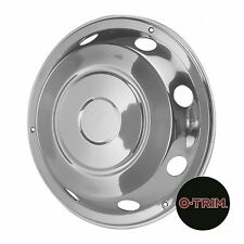"""2 x 17.5"""" Mercedes Front wheel trims hub caps covers stainless steel O-Trim"""