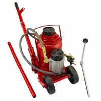 50 Ton Air / Manual All Purpose Pneumatic Hydraulic Bottle Jack Lift Tool