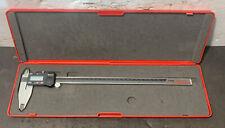 Starrett 799 12 300mm Digital Caliper Inspection Machinist Lathe Milling Used