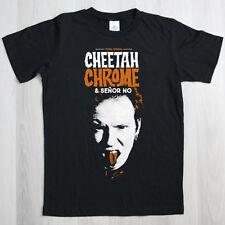 ¡OFERTA! Camiseta Manga Corta Negra Cheetah Chrome & Señor No Talla XL . punk