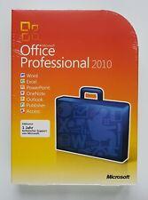 Office 2010 Professional Pro DVD Retail Box Vollversion Deutsch 269-14674 NEU