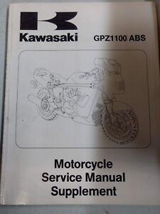 Kawasaki GPZ1100 ABS USED Service Manual 99924-1192-51 SUPPLEMENT