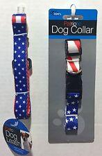 Patriotic Dog Leash & Collar Independance Day Bundle
