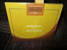 ANTON KUERTI PIANO - BEETHOVAN LIMITED EDITION CD, ANALEKTA COLLECTION SONOTAS