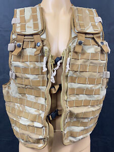 British Military Desert DPM MOLLE Tactical Load Carrying Webbing Vest