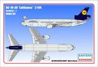 EASTERN EXPRESS 144121_7 - Airliner DC-10-30 LUFTHANSA / Modellbausatz 1:144