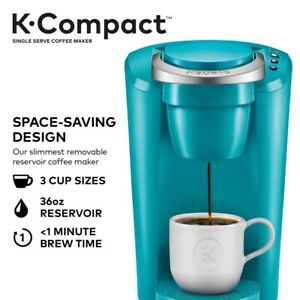 Keurig K-Compact Single Serve Coffee Maker - Turquoise