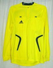 Adidas Clima365 Yellow High Visibility Riding Running Long Sleeve Shirt Size S