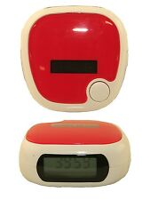 Pedometer Battery & Solar Powered LCD Run Step Walking Distance Calorie Counter