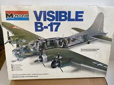 Revell Model 1/48 Scale Visible B-17 Flying Fortress Military Plane Kit #5620