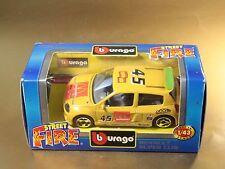 [PL3-55] BBURAGO BURAGO 1/43 STREET FIRE COLLECTION #41500 RENAULT SUPER CLIO