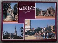 Carte postale VALENCIENNES Musée place d'Armes Saint Cordon multivue postcard