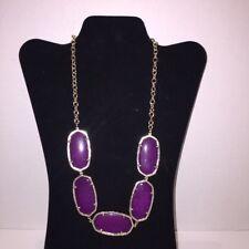 Kendra Scott Purple Jade Valencia Statement Necklace