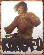 vTg 70s DAVID CARRADINE Kung Fu Kill Bill Bruce Lee TV KARATE t-shirt iron-on