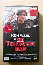 THE UNDERCOVER MAN - KEN WAHL -  RARITÄT - VHS