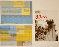 1978 SPI Strategy & Tactics #70 Board Game Magazine THE CRUSADES UNPUNCHED