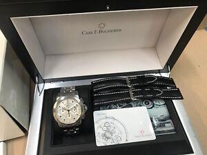 Carl F. Bucherer Patravi Chronodate Automatic Men's Watch 00.10624.08.13.21