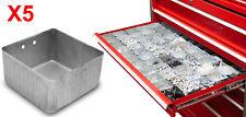 NEW Aluminum Small Parts Organizer 3X3 Bins for Tool Box Storage Solution X5