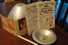 Wilton Wonder Mold Doll Cake Pan w/ Printed Directions Baking Party Birthday