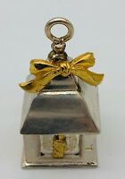 Rare Old Lunt Silversmiths pewter Lantren Christmas Holiday Ornament CH-468 .!!
