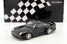 1987 Porsche 911 959 Noir Diecast 1:18 Minichamps