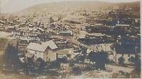 RPPC: Johnsonburg Pa - BIRDS EYE VIEW Early 1900s Photo Postcard